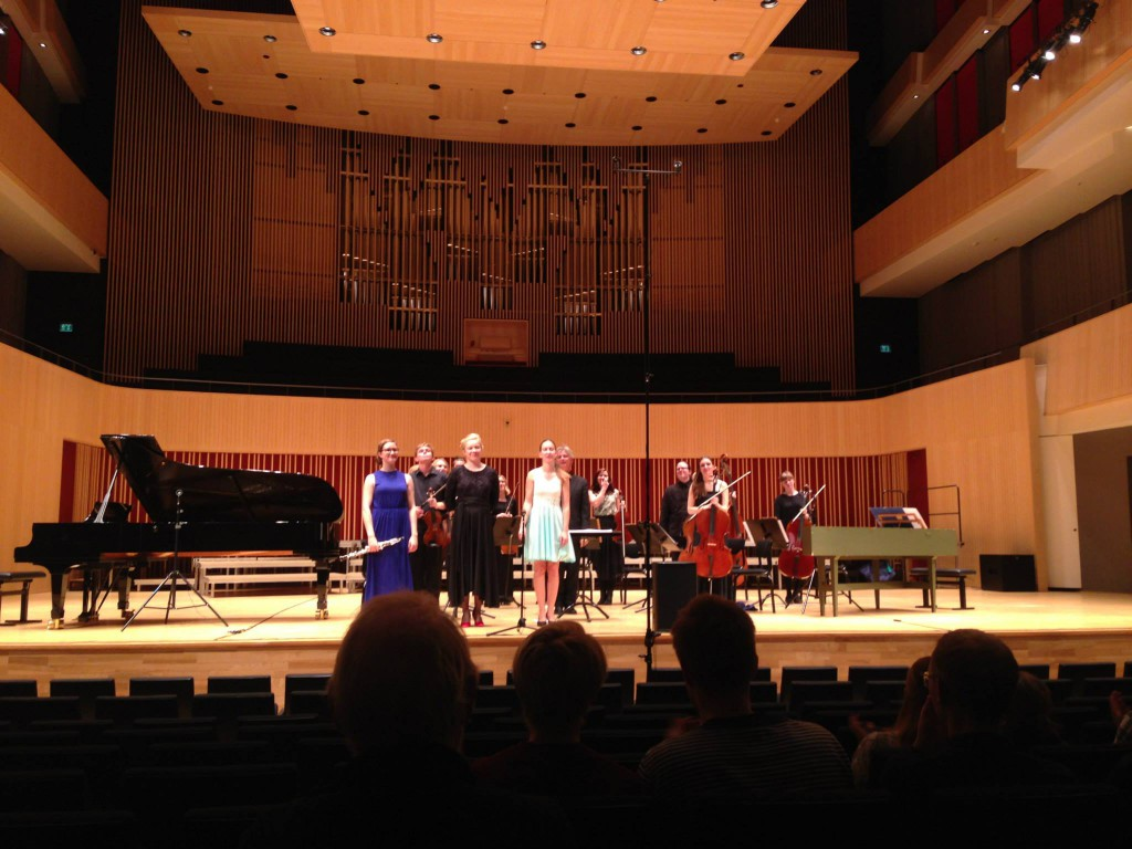 Soloists and ensemble in Concerto Reworked.