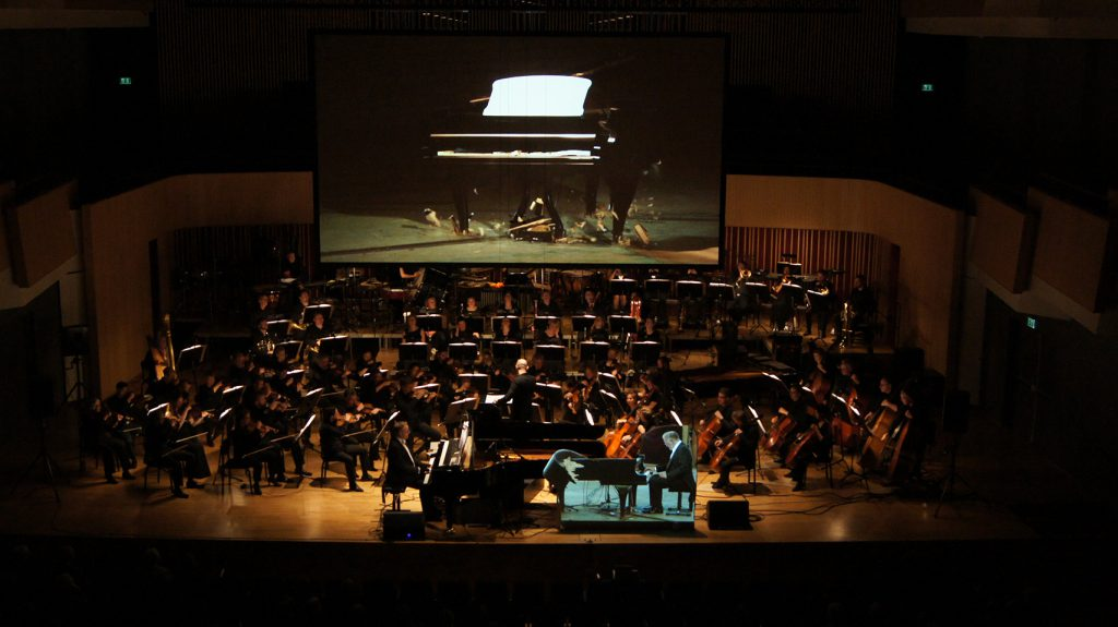 Danish premiere of Simon Steen-Andersen's Piano Concerto | photo: Allan Gravgaard Madsen