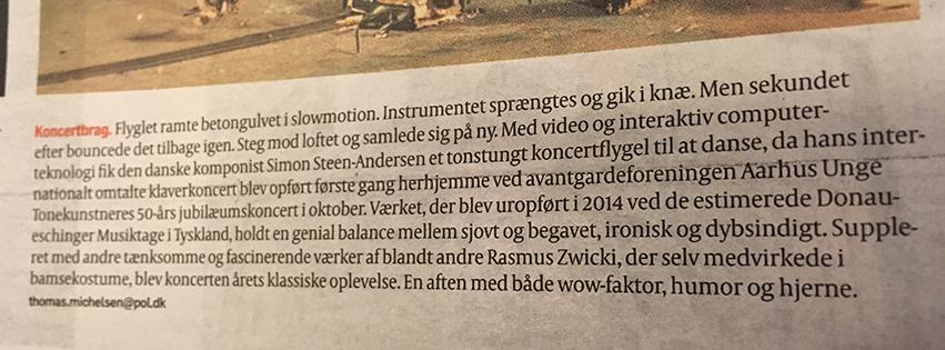 From Politiken 01.01.17